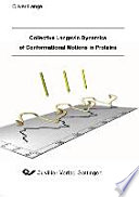 Collective Langevin dynamics of conformational motions in proteins