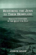 Restoring the Jews to Their Homeland Book PDF