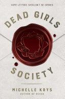 Pdf Dead Girls Society