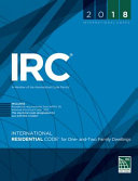 2018 International Residential Code for One- And Two-Family Dwellings