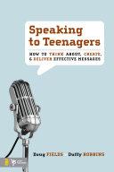 Speaking to Teenagers