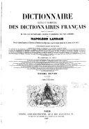 Dictionnaire général et grammatical des dictionnaires français...