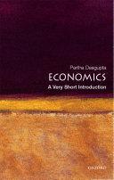 Economics: A Very Short Introduction