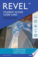 Business Ethics Revel Access Card