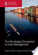 The Routledge Companion to Lean Management Book