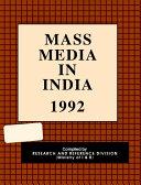 Mass Media in India 1992