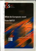 What Do Europeans Want from NATO