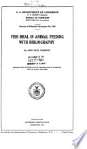Fish Meal In Animal Feeding With Bibliography