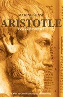 Making Sense of Aristotle