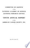 Report to American Cancer Society, Inc