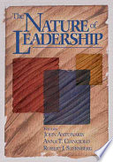 The Nature of Leadership Book