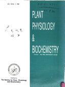 Plant Physiology & Biochemistry