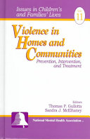 Violence in Homes and Communities Book