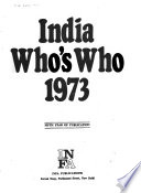 India Who's who