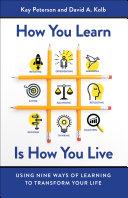 How You Learn Is How You Live Pdf/ePub eBook