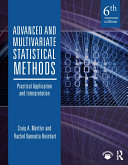 Advanced and Multivariate Statistical Methods [Pdf/ePub] eBook