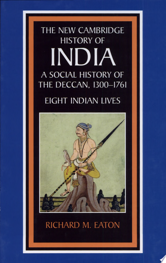 A Social History of the Deccan  1300 1761
