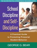 School Discipline and Self-Discipline