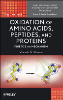 Pdf Oxidation of Amino Acids, Peptides, and Proteins Telecharger