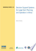 Decision Support Systems for Large Dam Planning and Operation in Africa