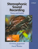 Stereophonic Sound Recording Techniques