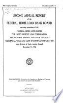 Annual Report of the Federal Home Loan Bank Board