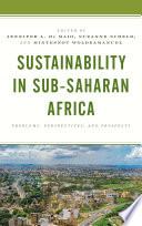 Sustainability in Sub Saharan Africa