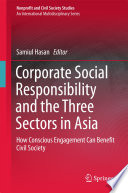 Corporate Social Responsibility and the Three Sectors in Asia Book