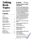 Talking Book Topics