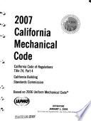 California Mechanical Code