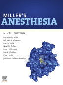 Miller s Anesthesia  2 Volume Set E Book