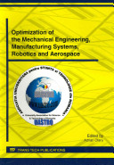Optimization of the Mechanical Engineering  Manufacturing Systems  Robotics and Aerospace