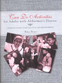 Can Do Activities for Adults with Alzheimer's Disease