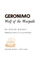 Geronimo  Wolf of the Warpath