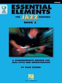 Essential Elements For Jazz Ensemble Book 2 Guitar Book PDF