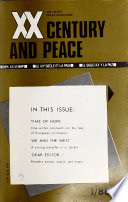 XX Century and Peace