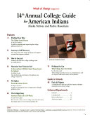 Winds of Change Magazine s     Annual College Guide for American Indians
