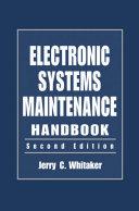 Electronic Systems Maintenance Handbook Pdf/ePub eBook