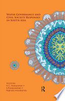 Water Governance and Civil Society Responses in South Asia Book