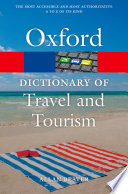 """A Dictionary of Tourism and Travel"" by Allan Beaver"