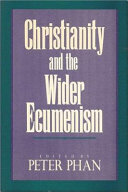 Christianity and the Wider Ecumenism