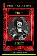 Thin Lizzy Famous Coloring Book
