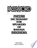 Password, English Dictionary for Speakers of Bahasa Indonesia