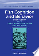 Fish Cognition And Behavior Book PDF