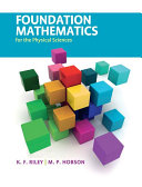 Foundation Mathematics for the Physical Sciences