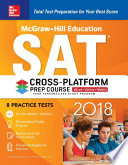 McGraw Hill Education SAT 2018 Cross Platform Prep Course