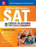 McGraw Hill Education SAT 2018 Cross Platform Prep Course