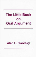 The Little Book on Oral Argument