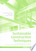Sustainable Construction Techniques