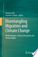 Disentangling Migration And Climate Change Book PDF